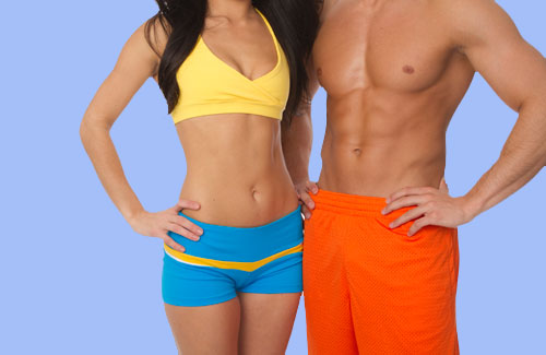 Lette annonceringer com lækker mands krop